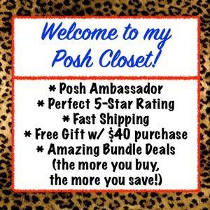 Welcome To My Posh Closet!
